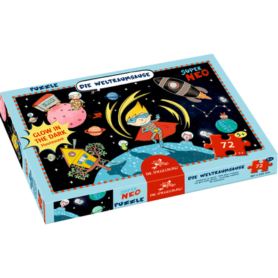 Boxpuzzle Die Weltraumsause Super Neo (72 Teile)