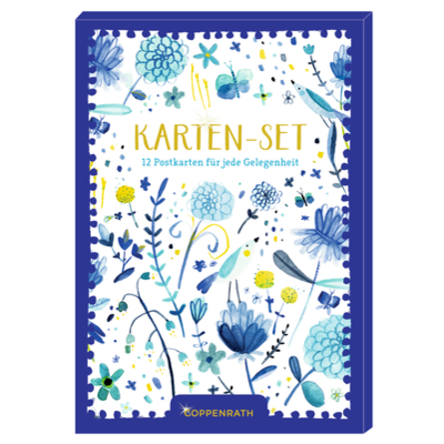 Karten-Set - All about blue