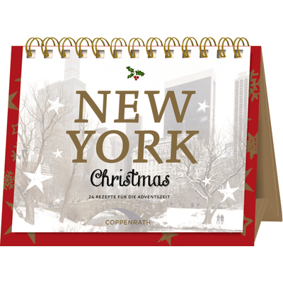 New York Christmas, Rahmen-Tisch-Adventskalender