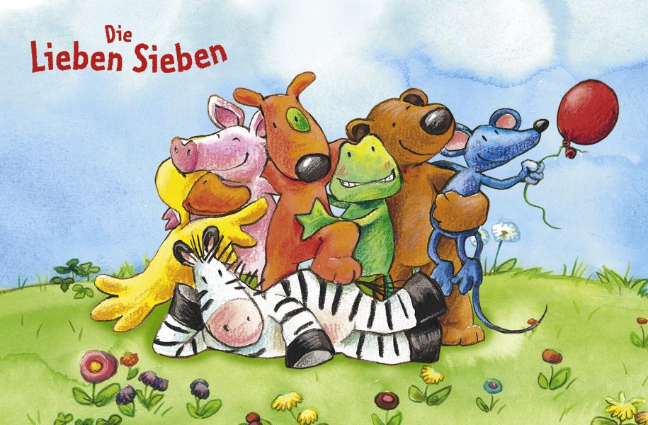 Kinderteppich die lieben sieben  Die Lieben Sieben - Coppenrath Verlag | Die Spiegelburg | Hölker ...
