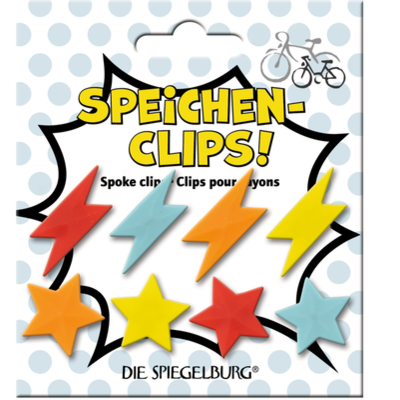 Speichenclips Pimp my bike! Kids (8 Stk.)