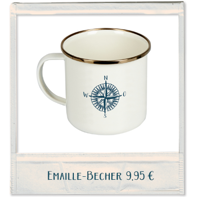 Emaille-Becher
