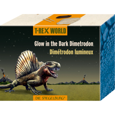 Glow in the Dark Dimetrodon  T-Rex World
