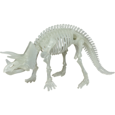 Glow in the Dark Triceratops  T-Rex World