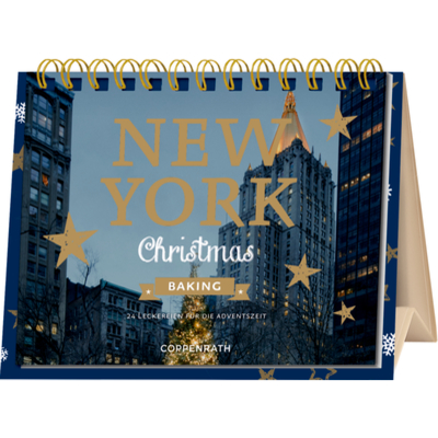 New York Christmas Baking, Rahmen-Tisch-Adventskalender