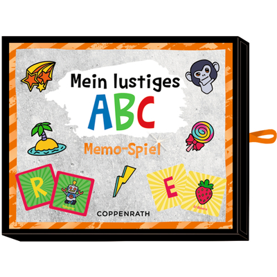 Memo-Spiel - Funny Patches - Mein lustiges ABC