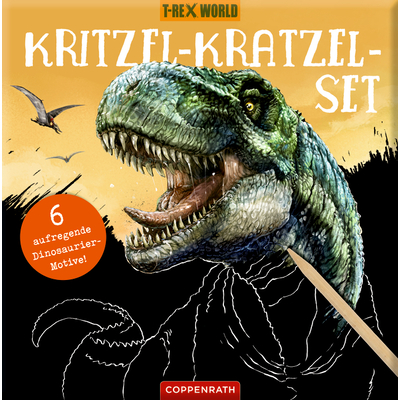 Kritzel-Kratzel-Set - T-Rex World