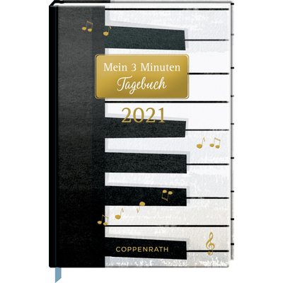 Mein 3 Minuten Tagebuch 2021 - Piano (All about music)
